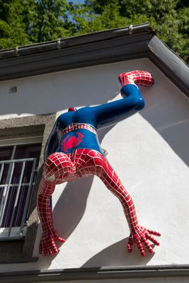 Spiderman in Altena