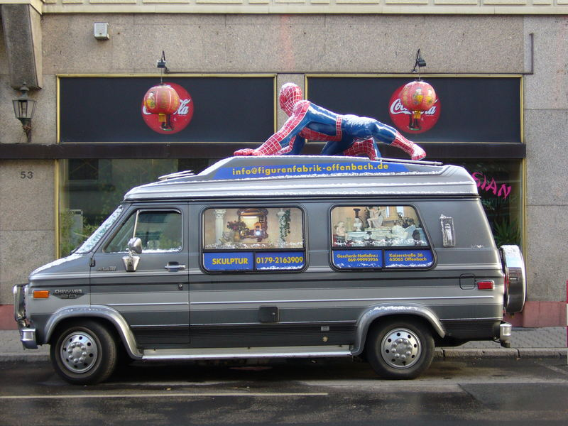 Spiderman on Tour