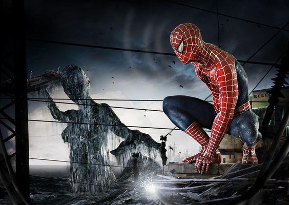Spiderman vs. Atargatis Version II