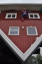 Spiderman zu Besuch