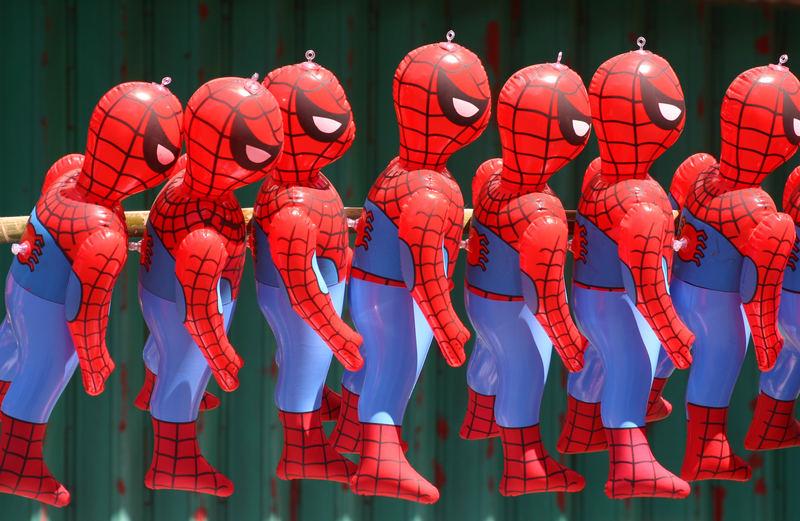 Spidermen..