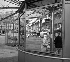 Spiegel einer Kleinstadt