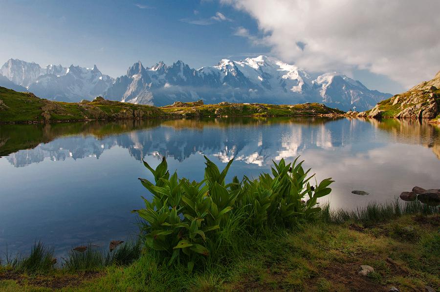 Spiegel für Mont Blanc