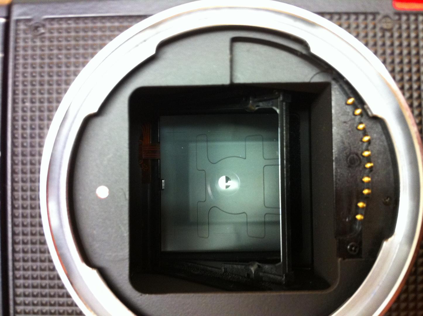 Spiegel Rolleiflex 6008 Integral zum zweiten