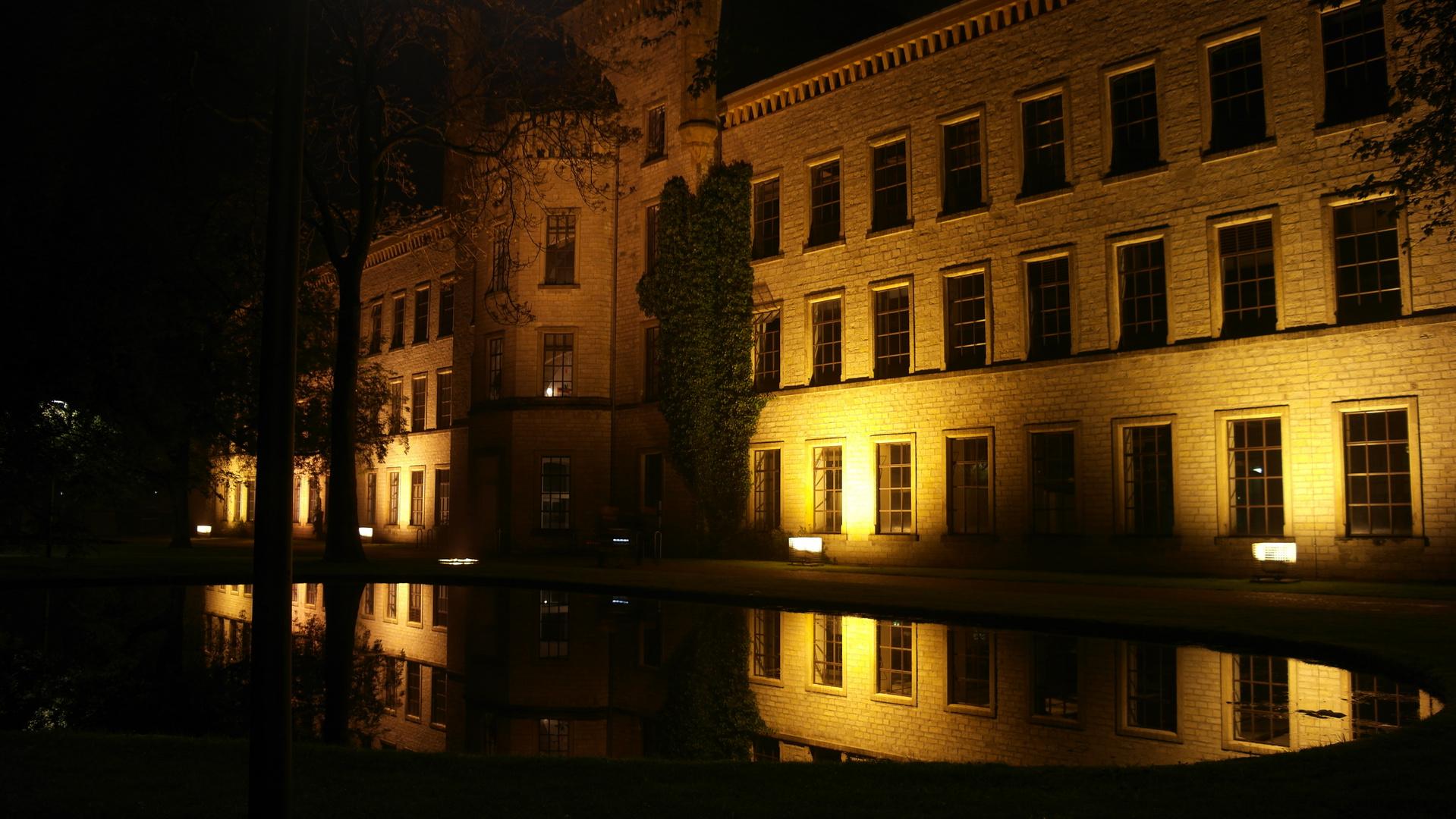 Spiegelbild bei Nacht
