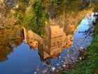 Spiegelbild Burg Kriebstein