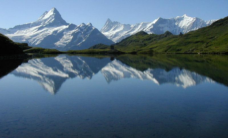 Spiegelbild der Berge II