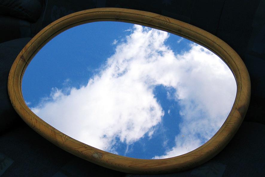 Spiegelblick - Einsam