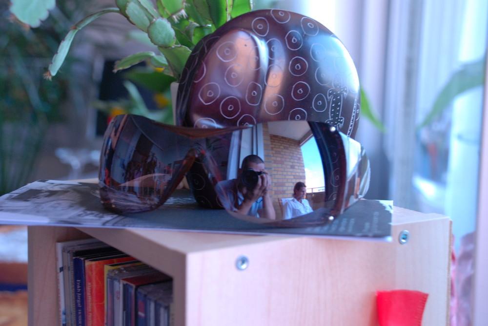 Spiegelbrille