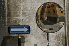 spiegel+einbahnstrasse verona