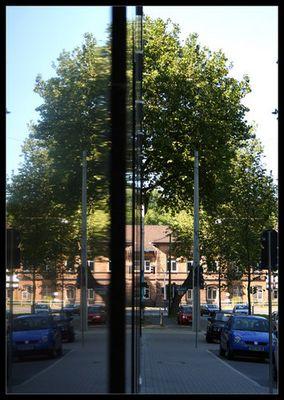 Spiegelnde Stadtwerke
