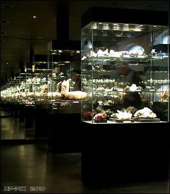 Spiegelsaal in der Terra Mineralia Freiberg