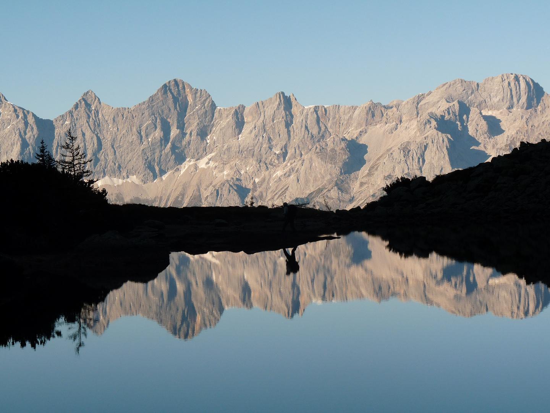Spiegelsee auf der Reiteralm