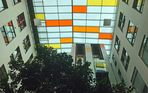 Spiegeltag- Spiegelung der Dachfenster