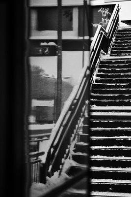 Spiegeltreppe 2 S-Bahnhof