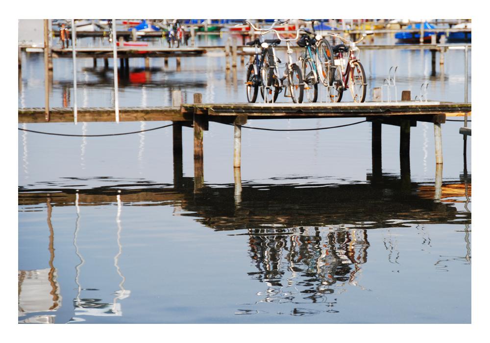 Spiegelung am Steinhuder Meer