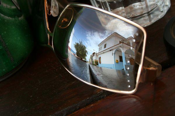 Spiegelung auf Gran Canaria