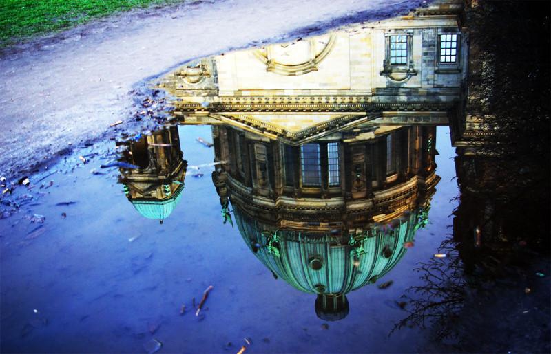 Spiegelung Berliner Dom
