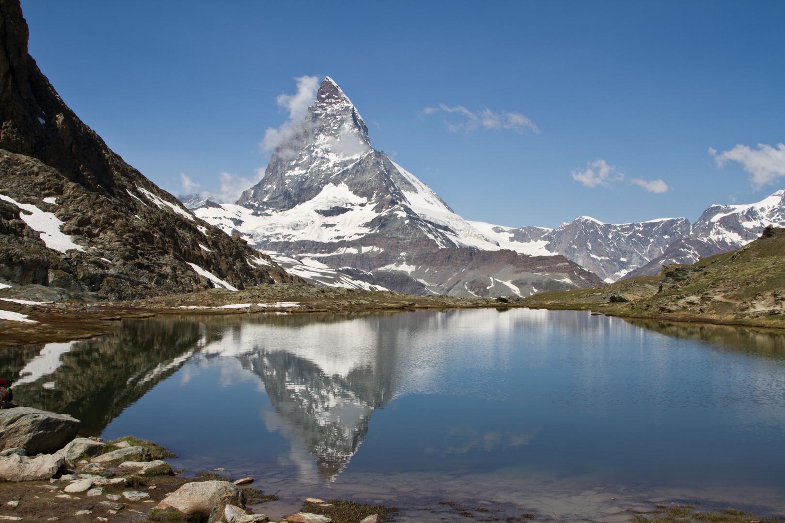 Spiegelung des Matterhorns