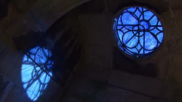 Spiegelung Grabfenster