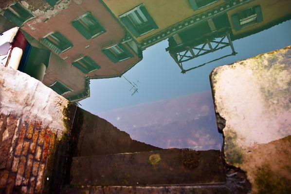 Spiegelung im Canale