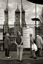Spiegelung im Grazer Kunsthaus!
