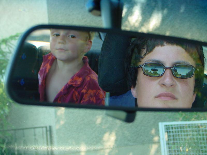 spiegelung im spiegel