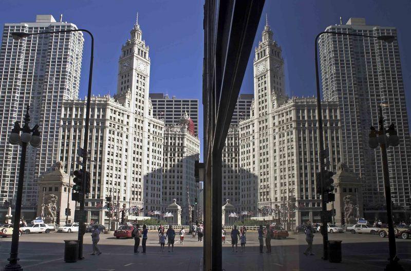 Spiegelung in Chicago