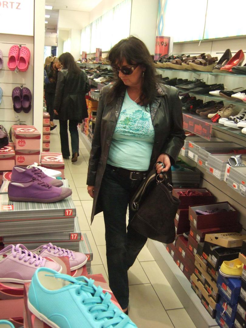 Spiegelung mit Schuhen