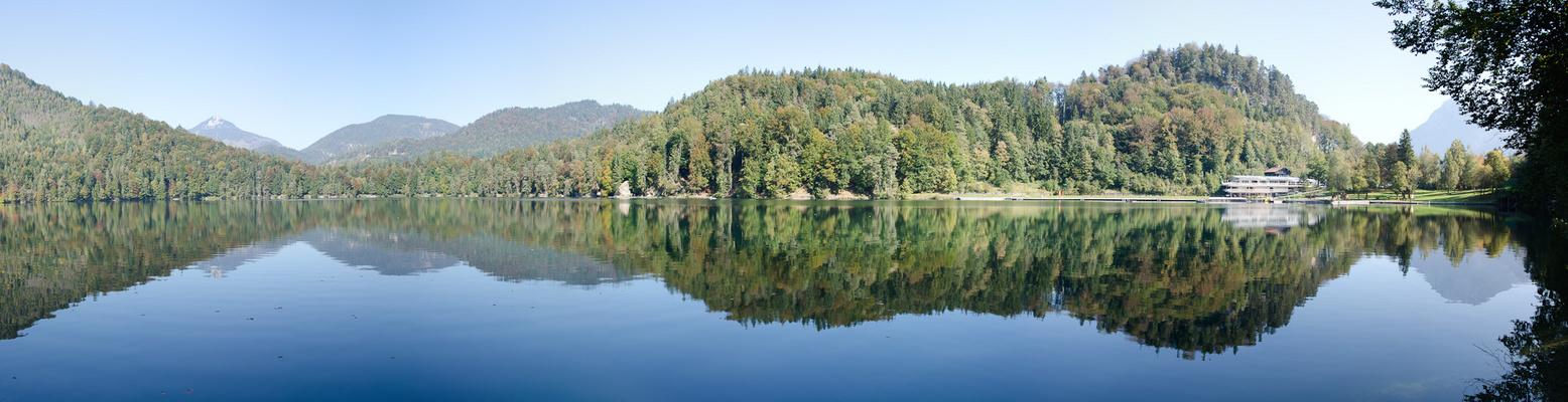 Spiegelungen am Hechtsee
