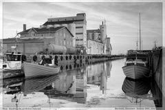 Spiegelungen im Hafen von Nexø