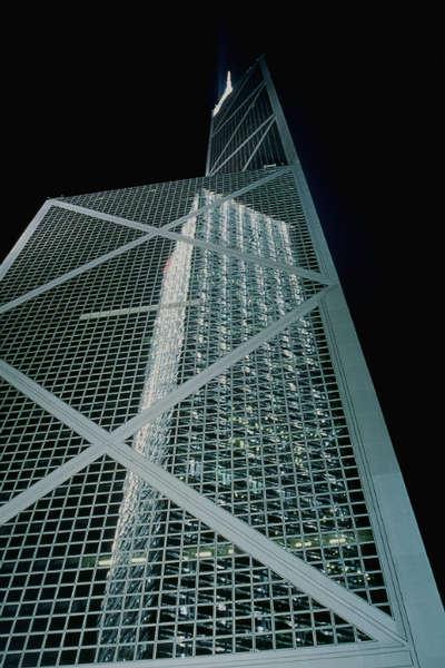Spiegelungen in der Bank of China Hong Kong Island