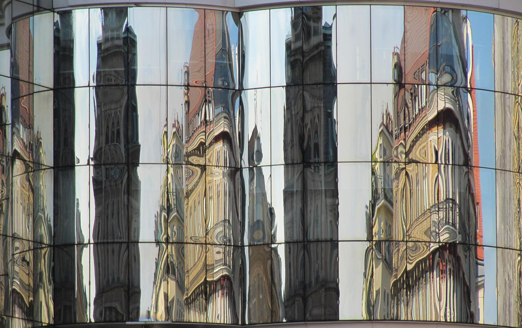 Spiegelungen - Wien Stephansplatz