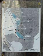 Spiegelweiher Gebiet - Lageplan zur Orientierung