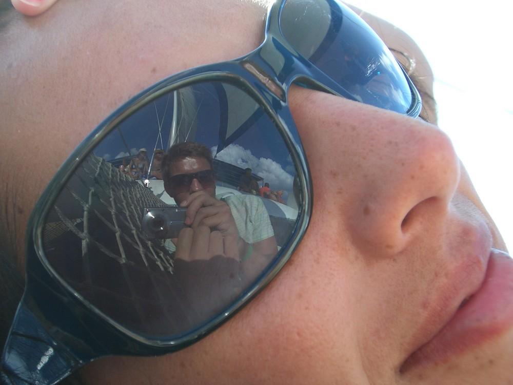 Spieglein Spieglein in der Brille...