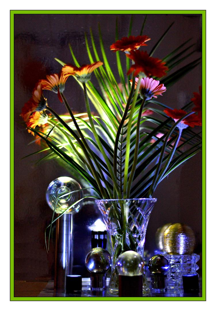 Spiel mit Blumen, Formen un Licht