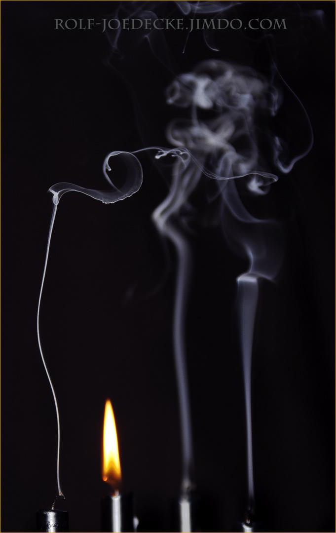 Spiel mit dem Feuer...