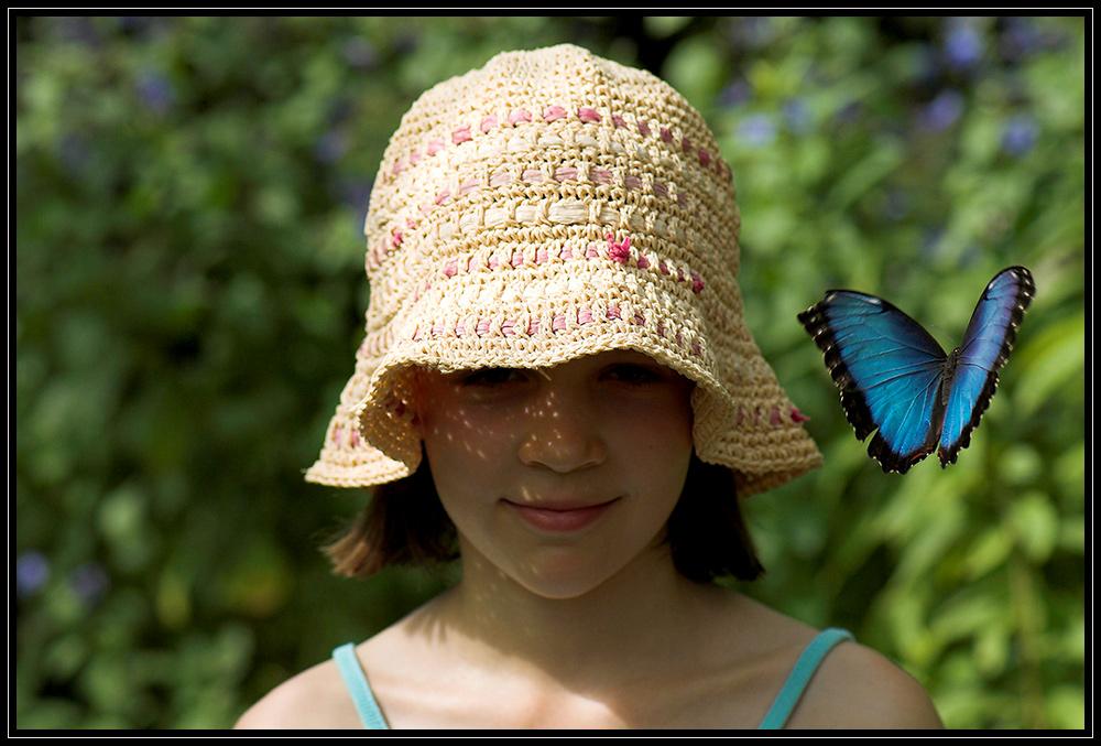 Spiel mit dem Schmetterling