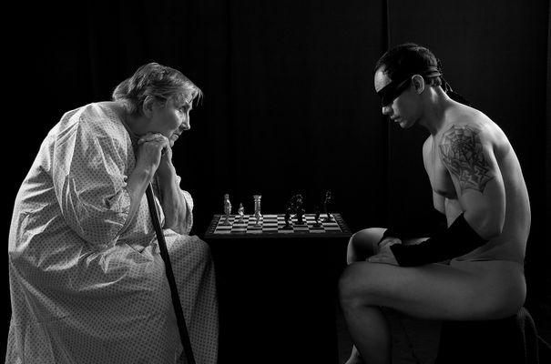 Spiel mit einem Gast