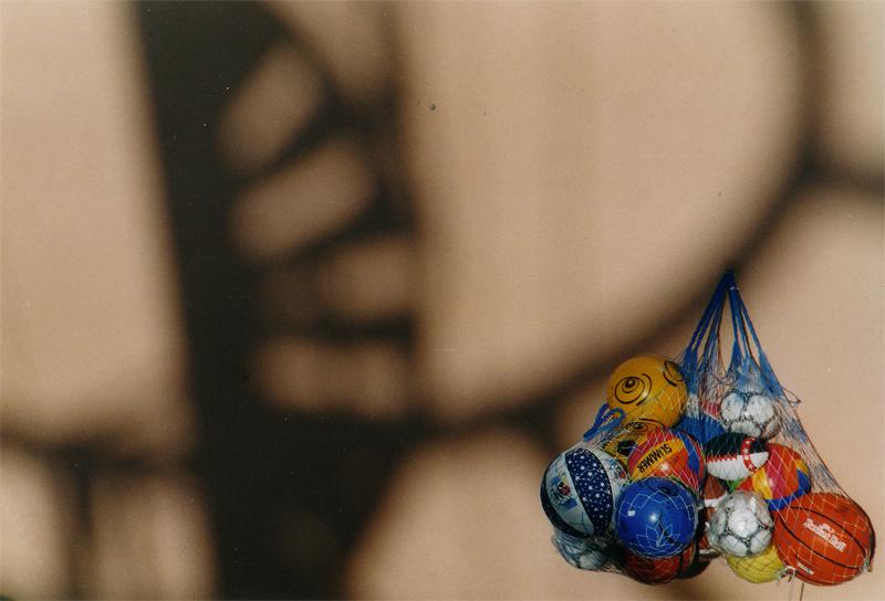 Spielbälle am Lido von benowa