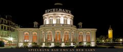 Spielbank Bad Ems, Panorama bei Nacht