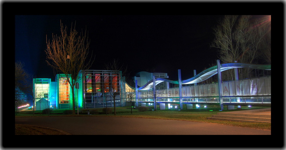 Spielbank bei Nacht