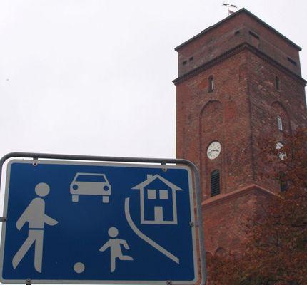 Spielen auf dem Leuchtturm erlaubt