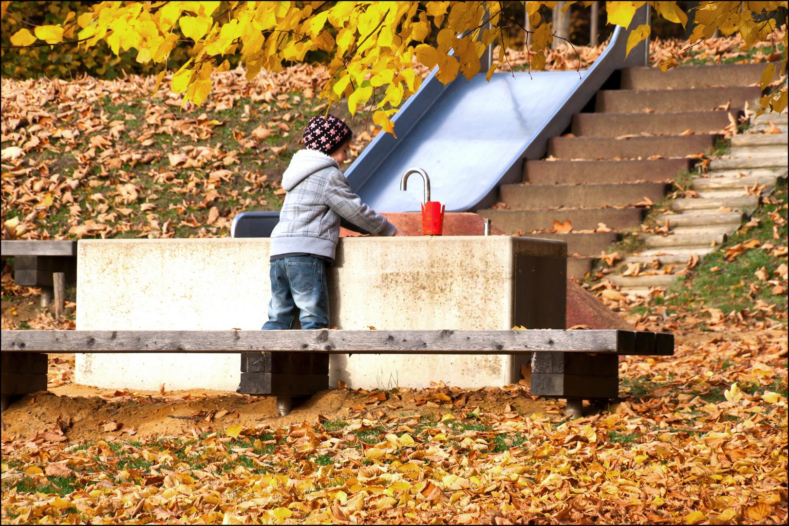 Spielen im Stadtpark