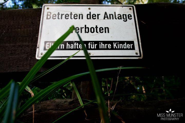 Spielen verboten!