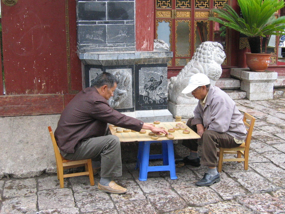 Spieler in Litjang, China