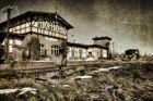 Spielerei mit dem alten Bahnhof