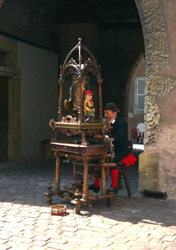 Spielmann in Colmar
