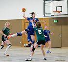 Spielszene mit Michelle TV Neheim vs. TV Westfalia Halingen