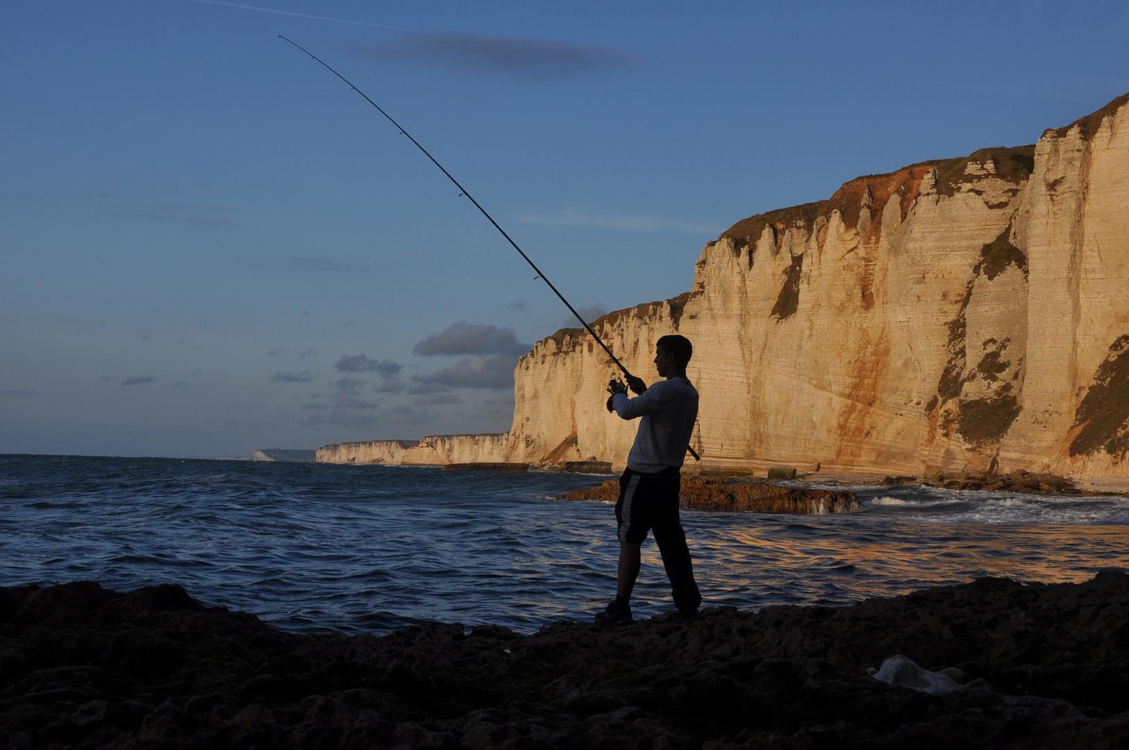 spinne am Morgen - fische am Abend